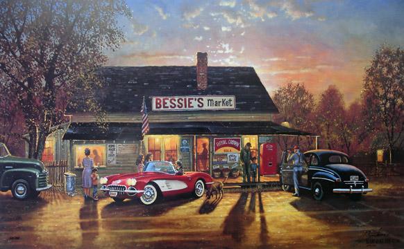 David Barnhouse Limited Edition Prints Paintings