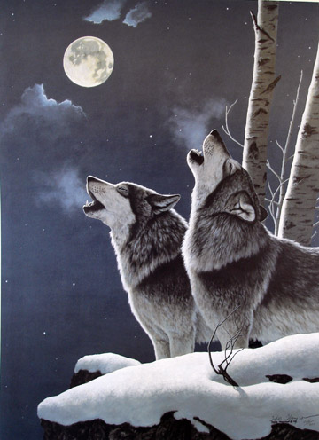 Wolves Art - Limited Edition Prints of wolves