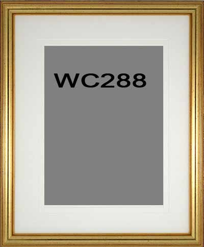 Watercolor Picture Frame 288